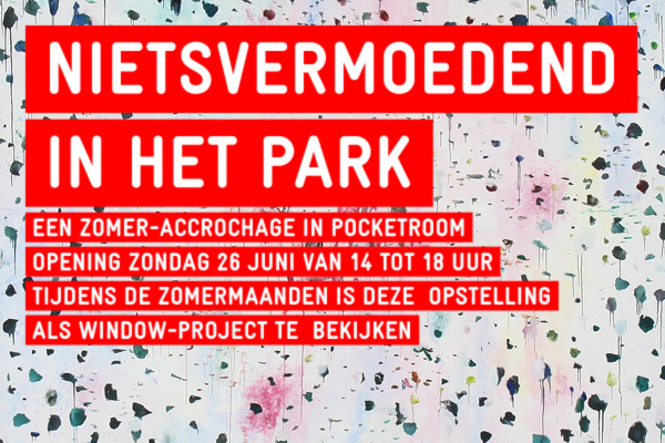 You are browsing images from the article: 'Nietsvermoedend in het park'